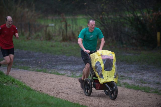 Eastleigh parkrun fun and joy. Jan 2016. Image credit: Paul Hammond