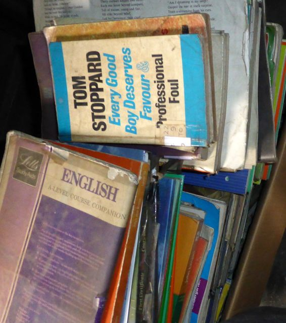 Old books Sri Lanka school