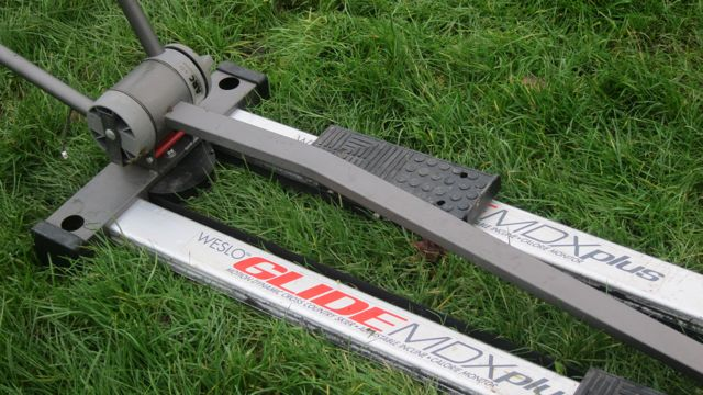SKI trainer Weslo glide mdx plus ski trainer exercise machine fly tipping