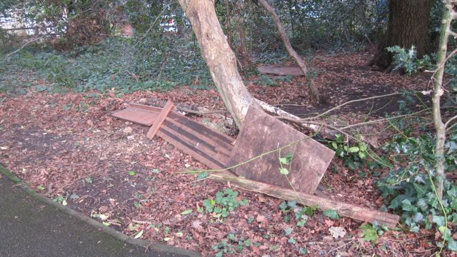 fly tipping Chandler's Ford