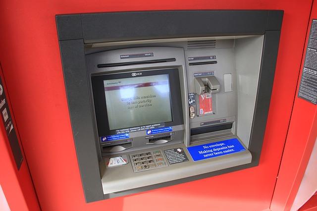 ATM via Pixabay