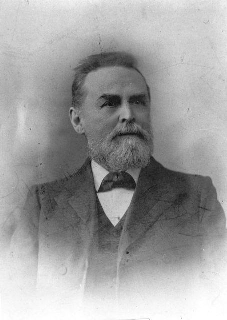 Portrait of FA Hendy