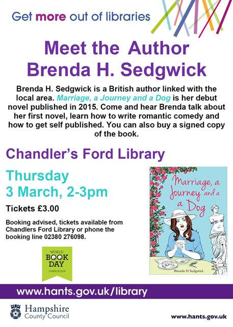 Meet the author Brenda Sedgwick 2016