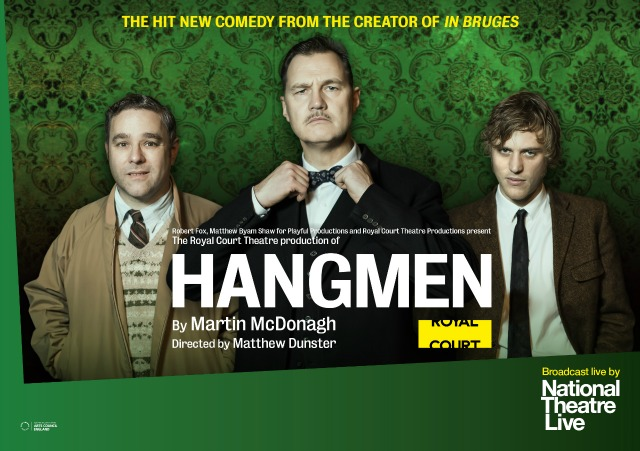 NT Live - Hangmen - Listings image - Landscape - UK