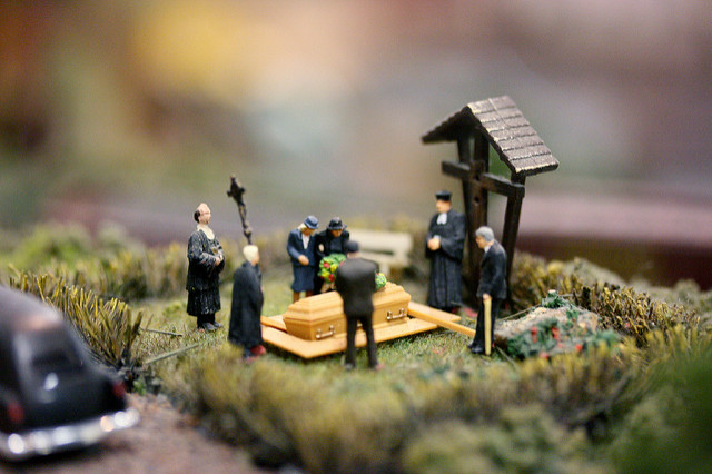 "Funeral model by <a href=""https://www.flickr.com/photos/andrew_d_miller/6119724178/"">Andrew Miller</a> via Flickr."
