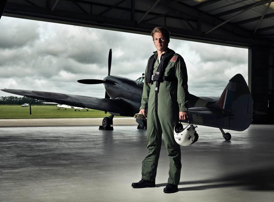 Matt Jones, Spitfire Pilot