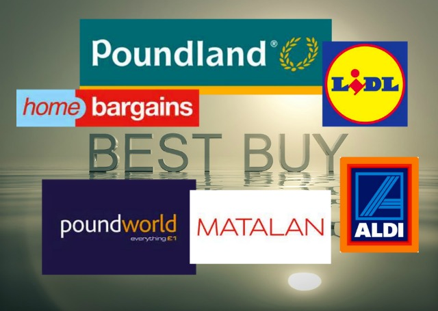 Some discount stores in Eastleigh.