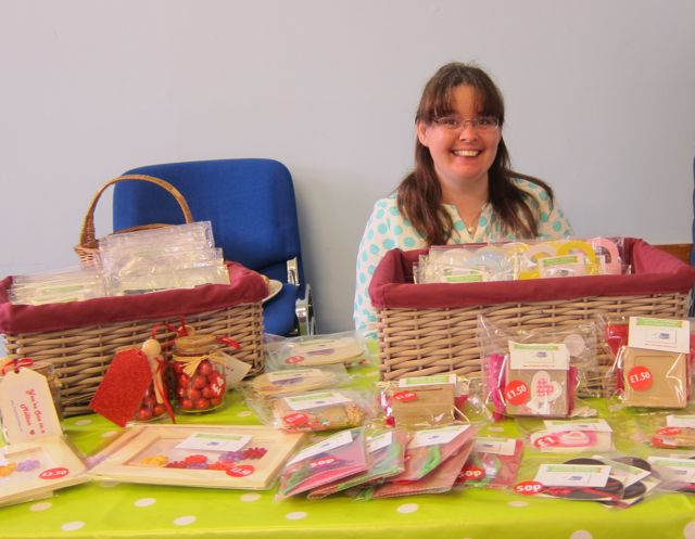 Craft Fair organiser: Michelle Duffy, of Fromthe Craftbox.