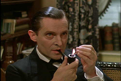 Jeremy Brett as Holmes - image by Insomnia Cured Here via Flickr