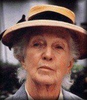 Joan Hickson as Miss Marple - image by Oksana via Flickr