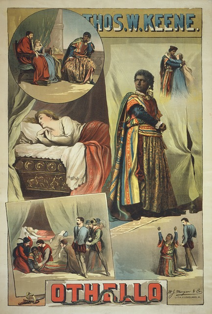 Othello poster - image via Pixabay