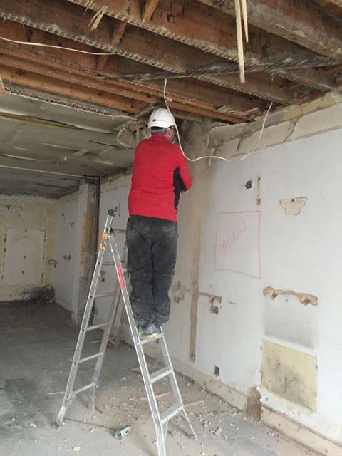 Renovation starts