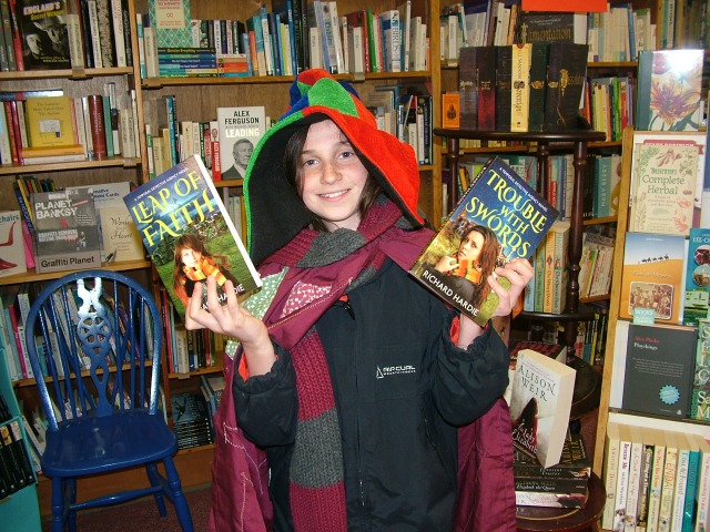 A young fan at World Book Night
