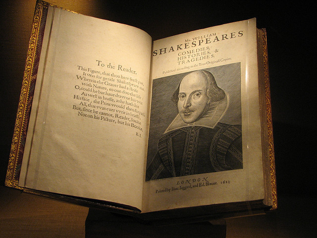 Shakespeare - image via Dan Wright on Flickr