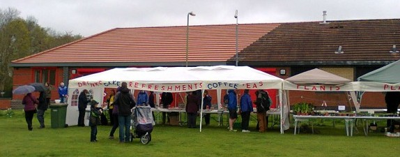 Always Popular - the refreshment and plant stalls