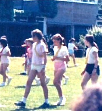 Chandler's Ford school days 1970s - 1980s. Image: Betty Brooking.