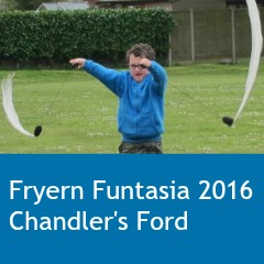 Fryern Funtasia 2016 Chandler's Ford feature