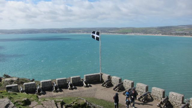 View from St. Michael's Mount, Cornwall.