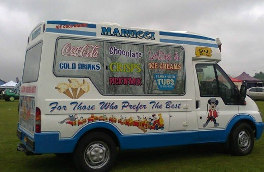 """For those who prefer the best"" - the side of the van I don't usually see - image by Allison Symes"
