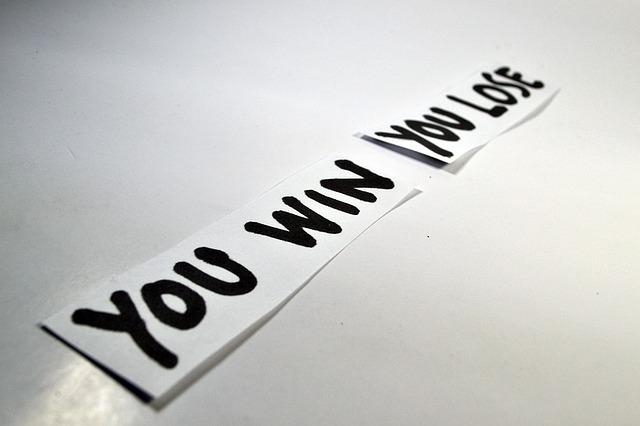 Win or Lose, image via Pixabay