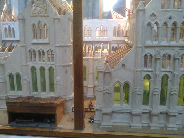 Model of Salisbury Cathedral