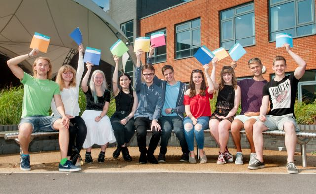 Barton Peveril College - A Level Results Day 2016 - Picture Andy Brooks