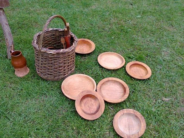 Stunning wooden bowls
