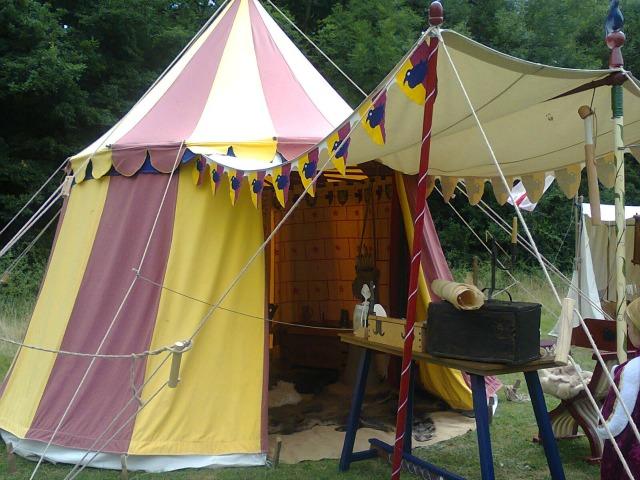 The Scribe's (Scrivener's) Tent
