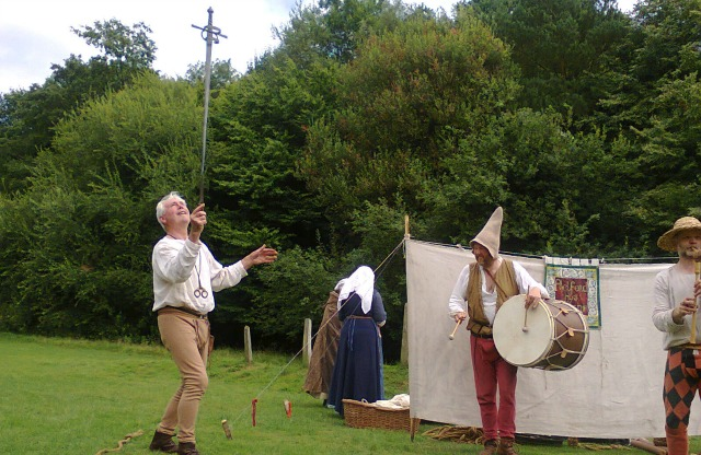 The sword juggler
