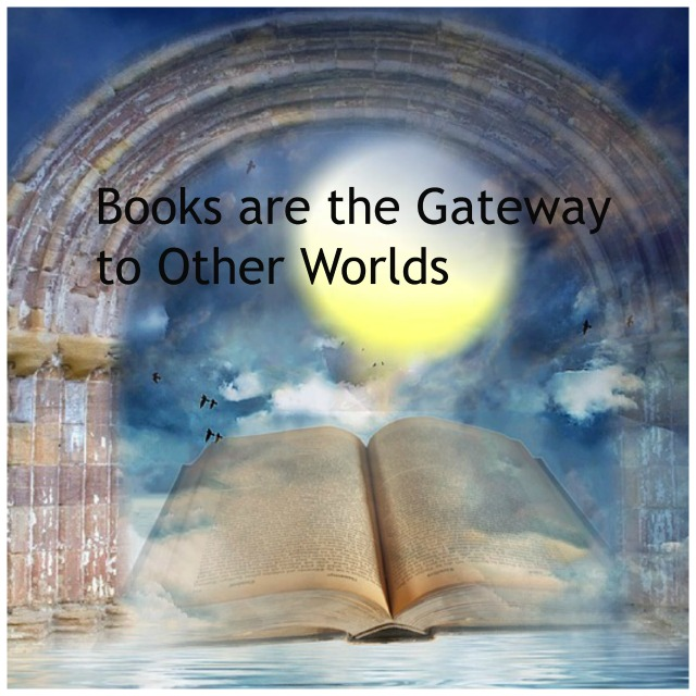 Feature Image - Flash Fiction - Books are Gateway - image via Pixabay