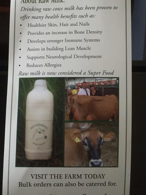 Visit the farm poster: Hiltonbury Jerseys