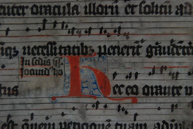 Manuscripts in medieval times - Image via Pixabay