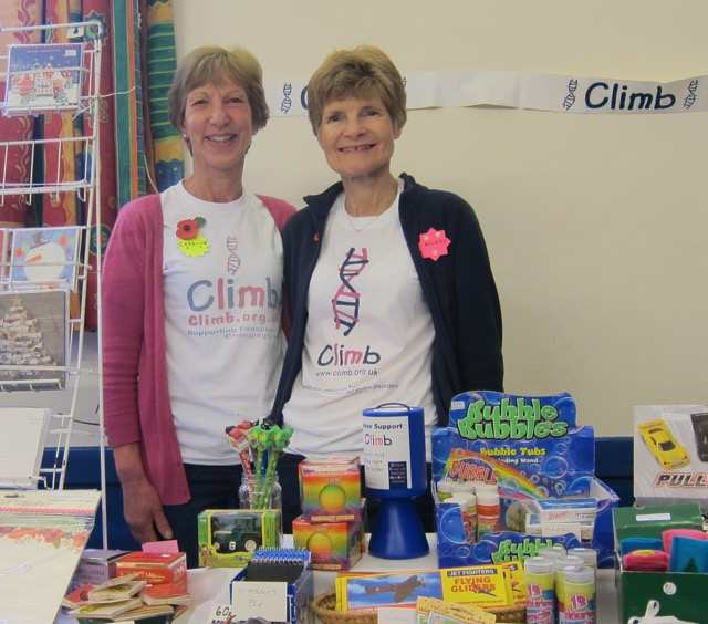 CLIMB: Children Living with Inherited Metabolic Diseases: Caroline and Hilary