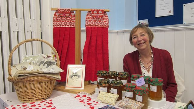 Chris Rennalls: making and selling lovely hand towels and household accessories.
