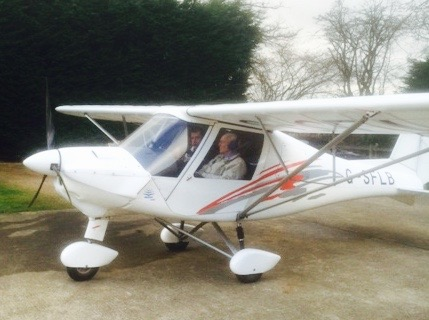 Frank took control of this plane and flew to Bosham, where he spent 25 happy years with Nancy.