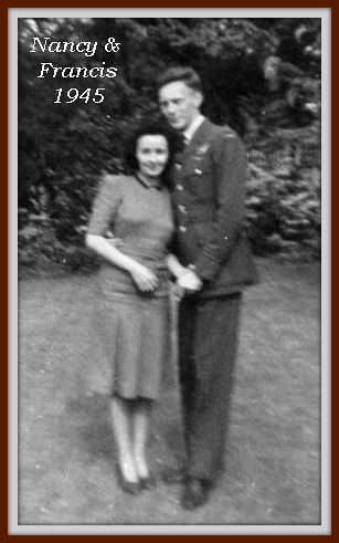 1945: Engagement of Frank and Nancy