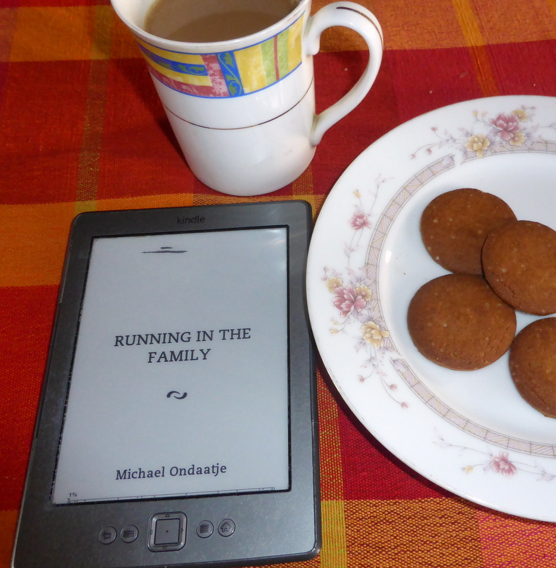 Preparing for a good read. Michael Ondaatje's 'Running in the Family.'