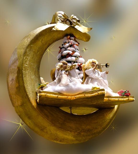 Angelic music - Image via Pixabay