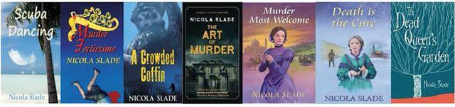 Books by Hampshire author Nicola Slade.