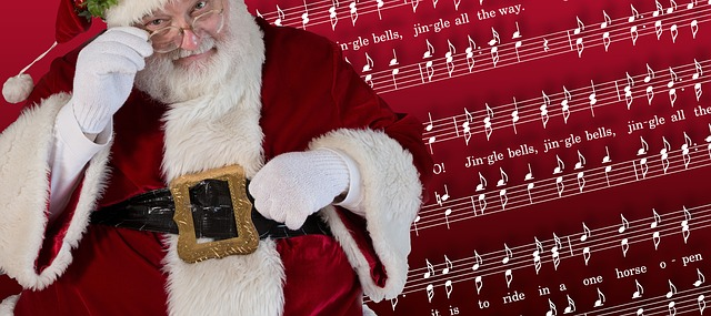 Carols and Santa - What's not to like? - Image via Pixabay