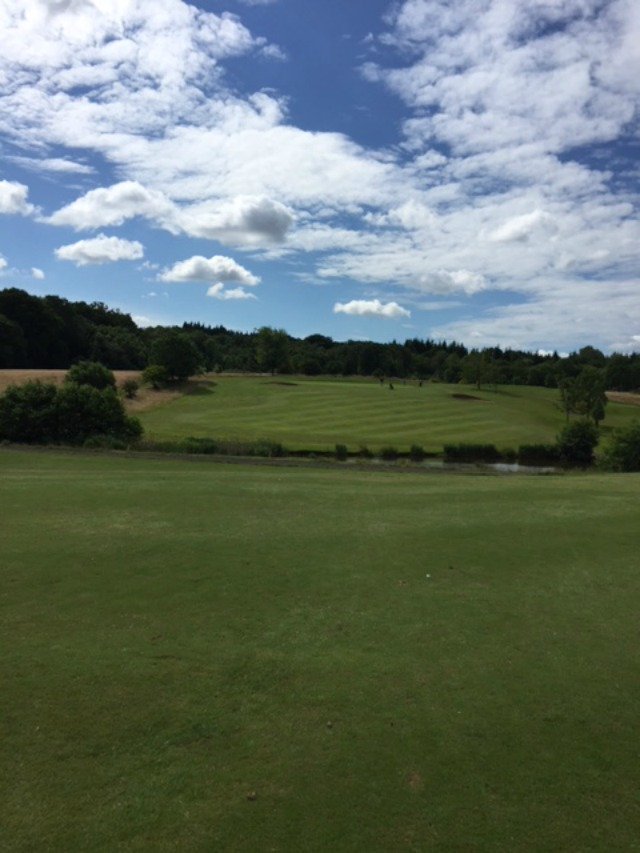 Chilworth Golf Club where Sandra will be-lady captain in 2017 - Image from Sandra