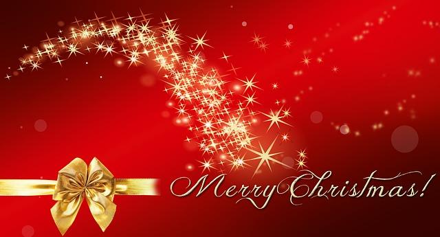 Christmas greetings - Image via Pixabay
