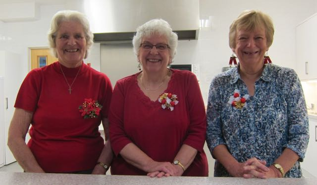Friendly faces at The Coffee Room - the hub of community in Chandler's Ford for over 30 years. Chandler's Ford Methodist Church.
