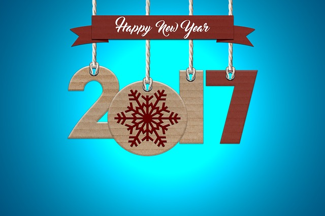 Happy New 2017 - Image via Pixabay