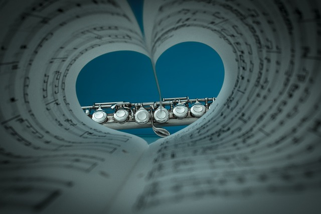 Love music, love film - image via Pixabay