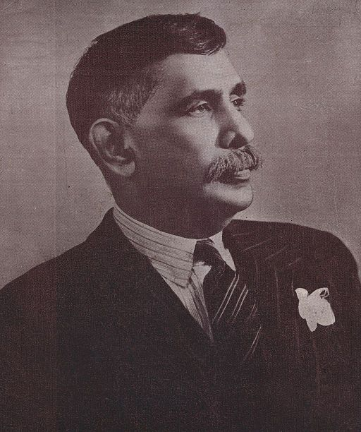 portrait of Don Stephen Senanayaka (1884-1952).