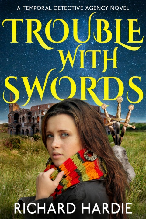 Trouble with Swords Ecover