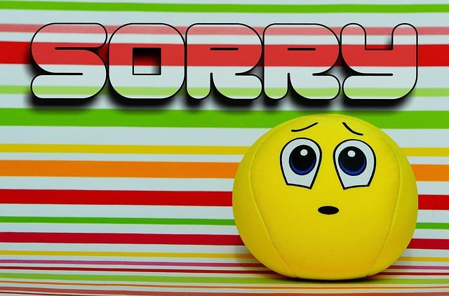 Sorry smiley by Alexas_Fotos via Pixabay.
