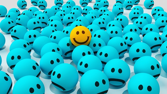 Smiley by CreativeMagic via Pixabay. Keep your sense of humour about you, always.