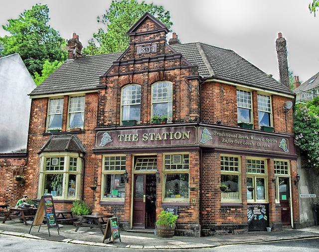 Typical British Pub